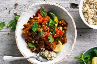 Healthy Vegan Vegetable Marrakesh Casserole Recipe