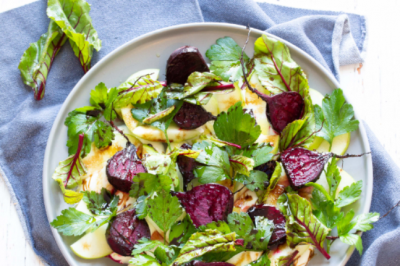 Healthy Gluten-free Roasted Beetroot Salad Recipe