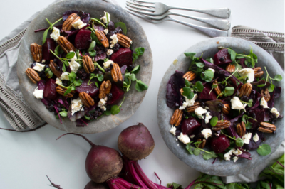 Gluten-free Beetroot, Maple and Pecans Salad Recipe