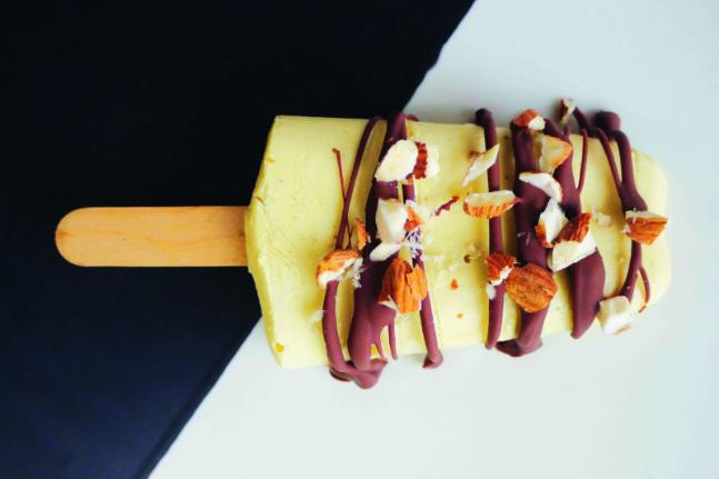 Gluten-free and Vegan Mango and Coconut Ice Blocks Recipe