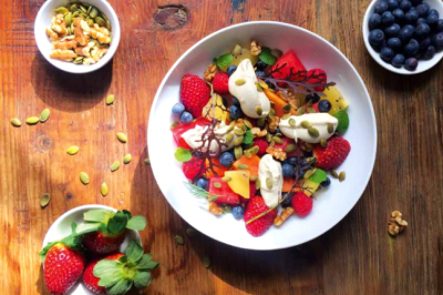 Vegan Berry, Pepita and Walnut Brain Booster Fruit Salad Recipe