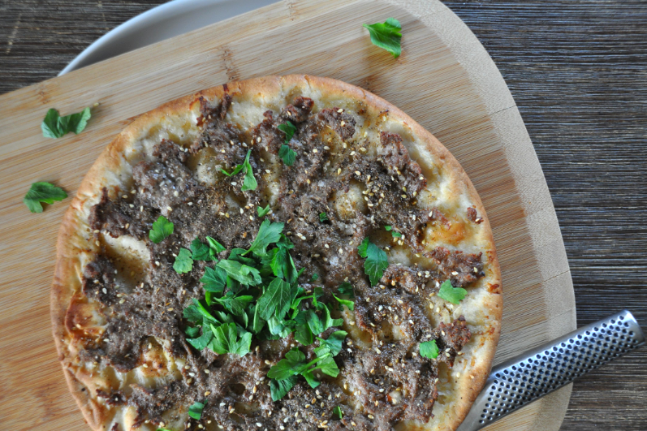 Quick and Healthy Za'atar and Lamb Flatbreads Recipe