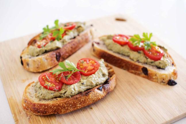 Mushroom, Walnut and Thyme Pâté with Sourdough Recipe