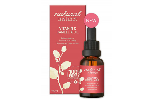 Natural Instinct Camellia Oil New