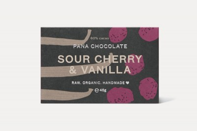 Sour Cherry & Vanilla Bar