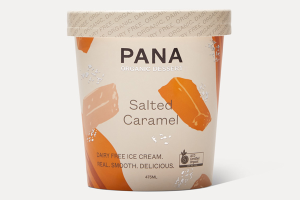 Salted Caramel Dairy Free Ice Cream