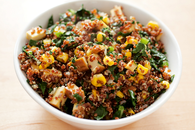 Try our Moroccan Quinoa and tofu recipe by Lee Holmes