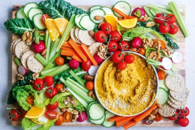 Spiced Carrot Dip Recipe