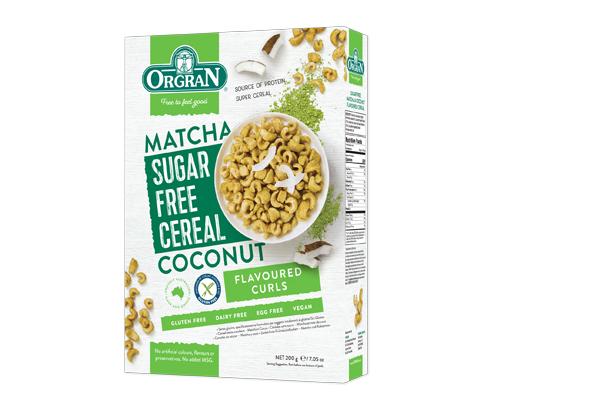 Matcha Sugar Free Cereal