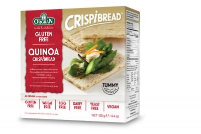 Quinoa Crispibread