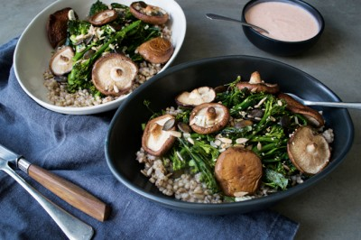 Buckwheat Broccolini Bowl Hr