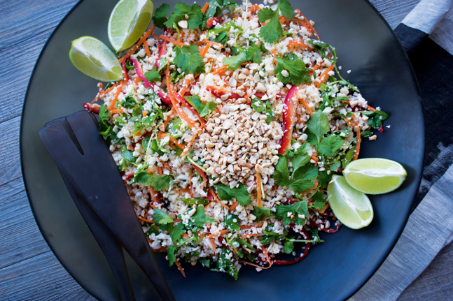 Cauliflower Rice Salad Recipe