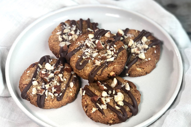 Tahini & Almond Cookies Recipe