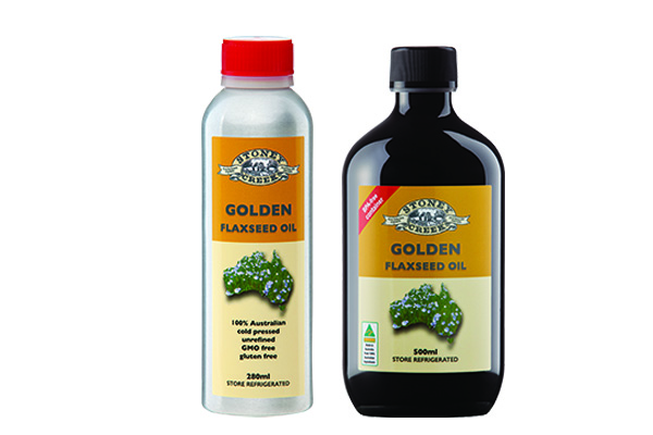 Golden Flaxseed Oil