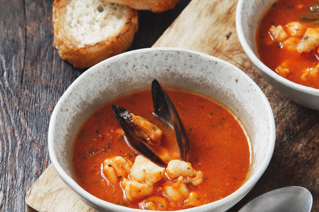 Supercharged Portuguese Cataplana-Style Seafood Stew