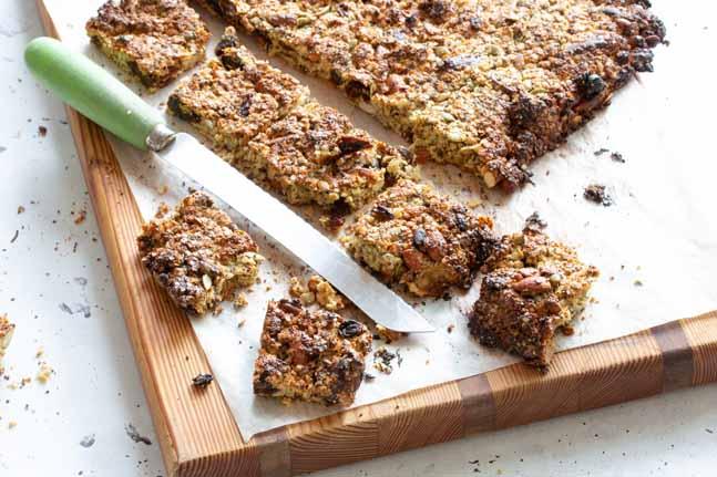 Danielle Minnebo's Gluten-Free Tahini Muesli Bar Recipes