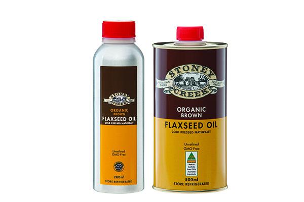 Organic Brown Flaxseed Oil