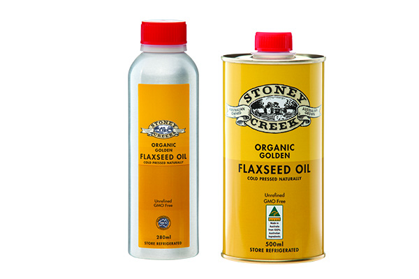 Organic Golden Flaxseed Oil
