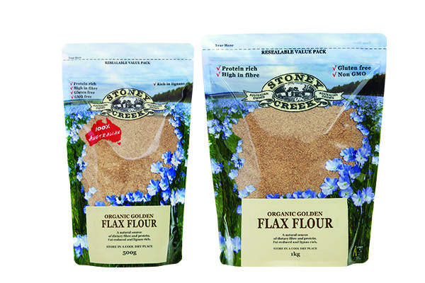 Organic Golden Flaxseed Flour