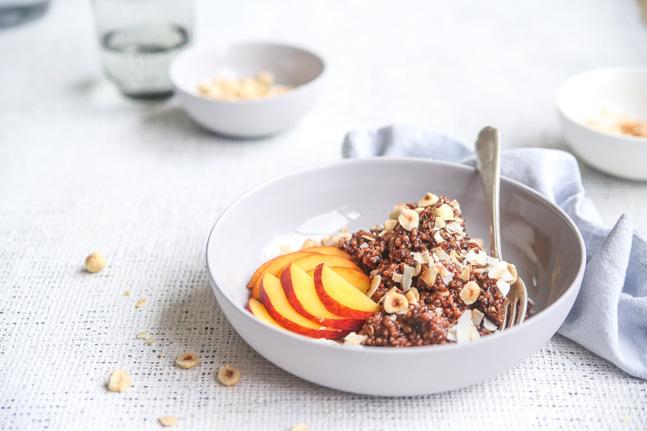 Gluten-Free Sweet Quinoa and Cacao Risotto Recipe