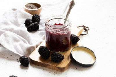 Danielle Minnebo's Elderflower and Blackberry Chia Jam