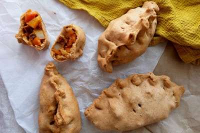 Spelt and Marinated Tempeh Cornish Pastie Recipe
