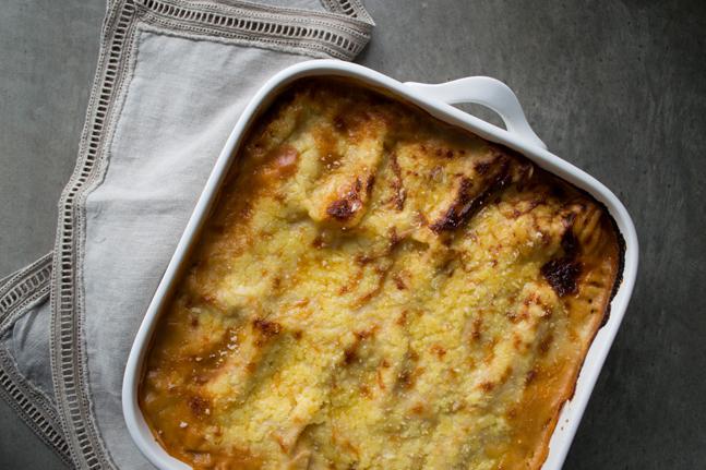 Vegetarian Mushroom and Lentil Lasagne with Spelt Recipe