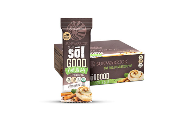 Sol Good Organic Cinnamon Roll Protein Bar