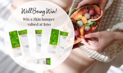 WIN a Zkin Certified Organic Skincare hamper valued at $160!