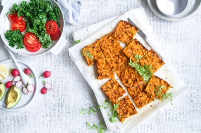 Gluten-Free Baked Sweet Potato Hash Browns Recipe