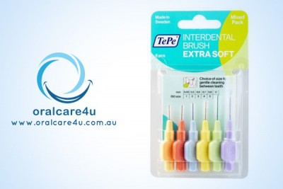 Tepe Interdental Brush X Soft Mixed 6pcs