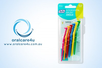 Tepe Angle Interdental Brush Mixed Pack 6pcs
