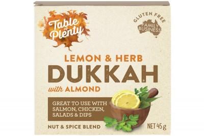 Lemon And Herb Dukkah