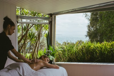 Indulge in the treatments at Bannisters Day Spa in Mollymook NSW