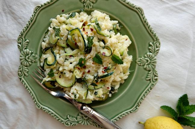 Meg Thompson's Zucchini, Ricotta and Lemon Risotto Recipe