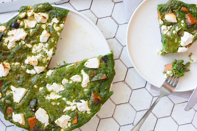 Danielle Minnebo's Kale and Sweet Potato Frittata Recipe