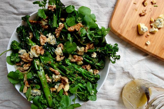 Meg Thompson's Broccolini, Walnut & Stilton Salad Recipe