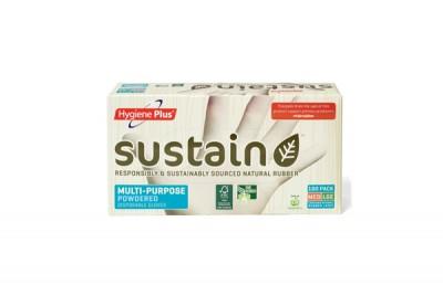 Hygiene Plus Sustain Multi Purpose Powdered Gloves