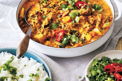 Try Alexx Stuart's clever Buy-Nothing-New Curry Recipe