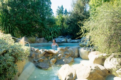 Explore the The Spa at Hanmer Springs in New Zealand