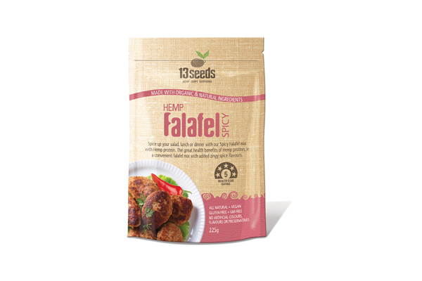 Hemp Falafel Spicy