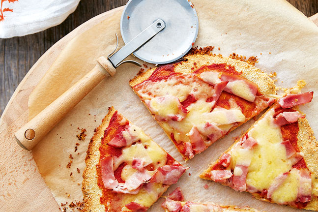 Try Lee Holmes' delicious and simple Ham and Cheese Pizza Recipe