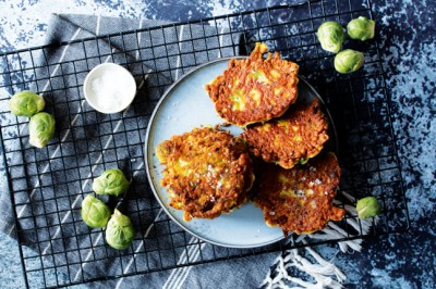 Danielle Minnebo's Brussels Sprouts Fritters Recipe