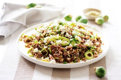 Try our Quinoa and Brussels Sprouts Salad Recipe