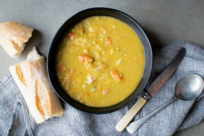 Try our delicious and healthy Dutch Pea and Ham Soup