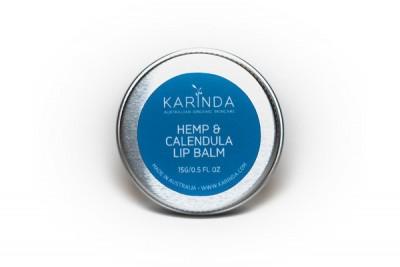 Karinda Hemp & Calendula Lip Balm