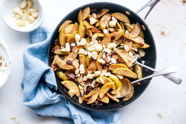 Try our delicious and warming Wholesome Spiced Apples Recipe