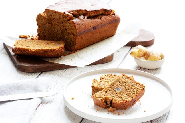 Try Danielle Minnebo's delicious, gluten-free Ginger Cake Recipe