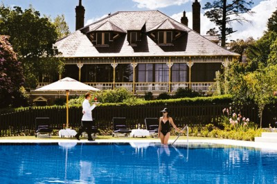 Nourish yourself at Lilianfels Resort and Spa in the Blue Mountains
