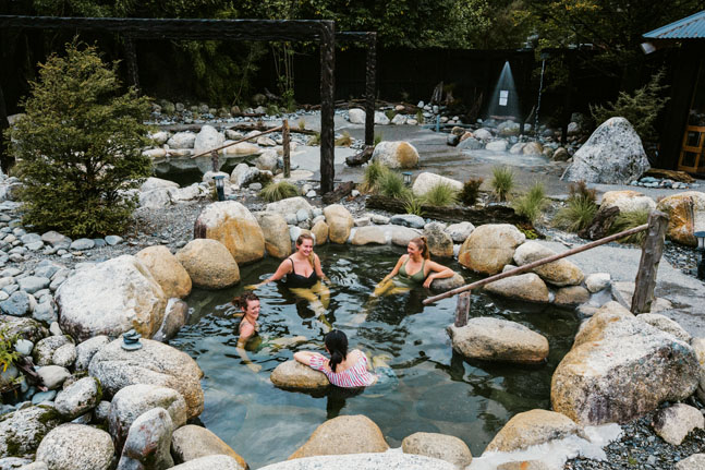 Feel renewed at Maruia Hot Springs in New Zealand